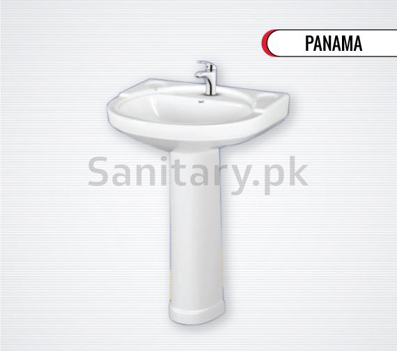 Wash Basin Pedestal Panama Total sanitary ware