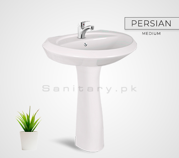PERSIAN (M) Washbasan Padestal Sunny Ceramics