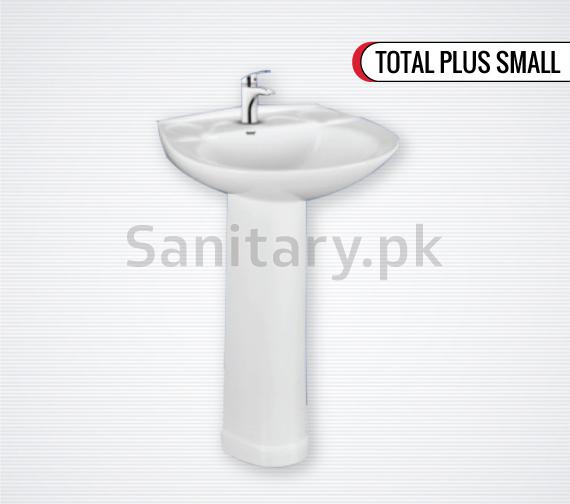 Wash Basin Pedestal Total Plus Small Total sanitary ware